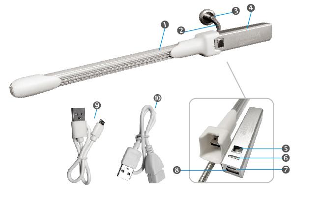 4in-14IN-1 Multifunction Tool Lighting