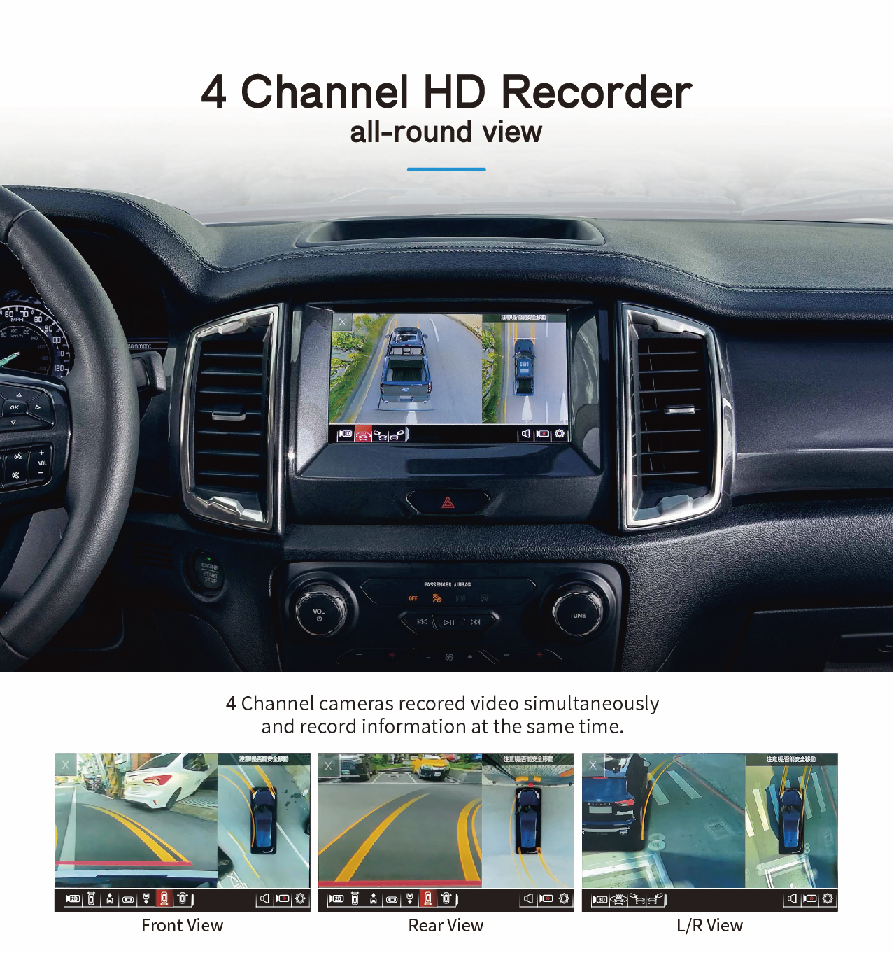 4 Channel HD Recorder all-round view